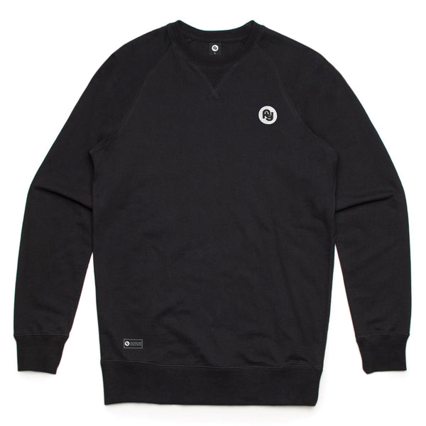 FY Embroidered Sweatshirt (black)