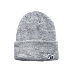 FY Label Ribbed Beanie (grey)