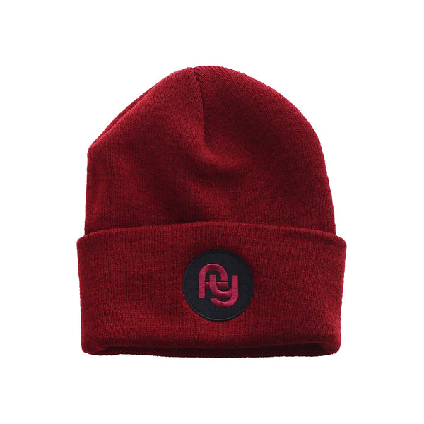 FY Heavyweight Beanie (burgundy)