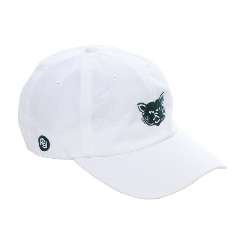 FY x Mitchy Slick - Green Cat Dad Hat (white)