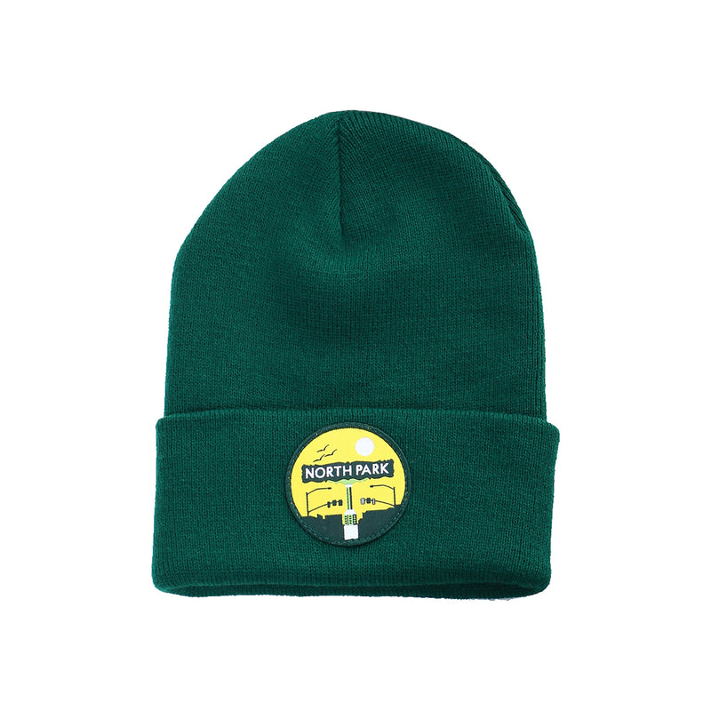 NP Sign Patch HW Beanie (green)