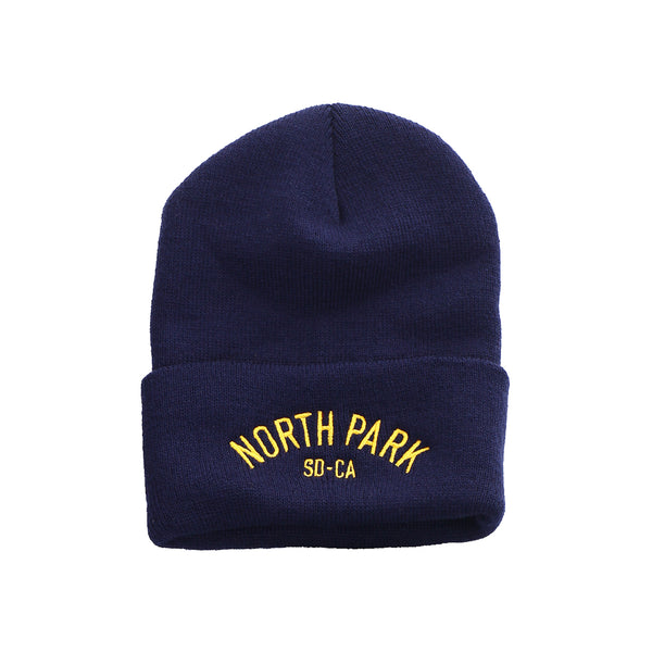 North Park USS HW Beanie (navy)