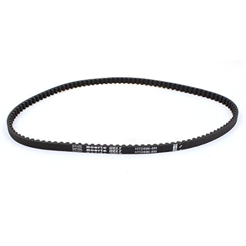 XL-160 80 Teeth 7.9mm Width Black Rubber Cogged Industrial Timing Belt 16/""