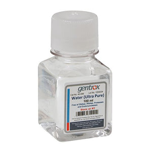 Water, Ultra Pure, Sterile, Molecular Biology Grade, 100Ml/Unit