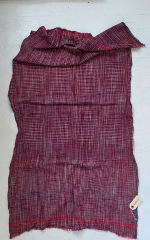 Auntie Oti rustic towel in berry