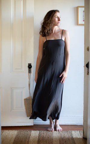 french slip dress