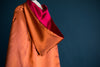 The Rowling Reversible Kids Cape- Burgundy & Copper