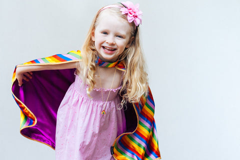 Vesper Series Noble Rainbow Cape - Amazing Capes - 2