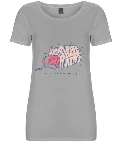 In The Dog House Pink Elephant - Women's Fair Share Organic T-Shirt