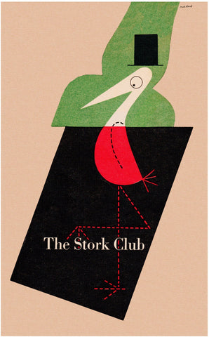 The Stork Club, New York, 1946 Paul Rand Book Cover