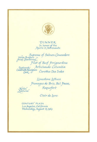 Dinner in Honor of the Apollo 11 Astronauts, Los Angeles 1969