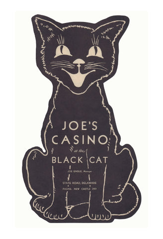 Joe's Casino at The Black Cat, New Castle, Delaware, 1930s