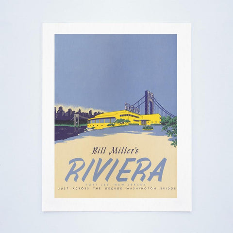 Bill Miller's Riviera Nightclub, Fort Lee, 1940s