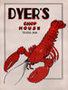 Dyer's Chop House  Toledo, Ohio 1956
