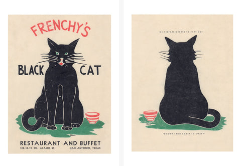 Frenchy's Black Cat, San Antonio Texas 1940s/1950s