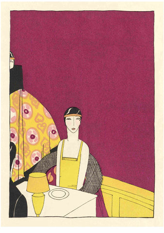 Hotel Statler, Boston 1930s Menu Art