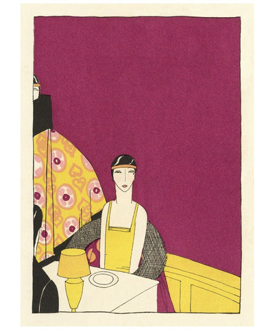 Hotel Statler Boston 1930s Menu Art