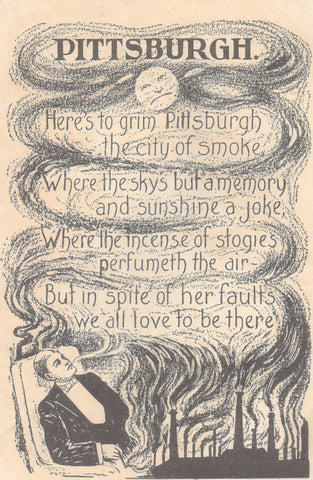 Pittsburgh, Meda Logan Poem 1907