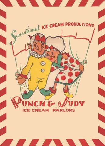 Punch & Judy Ice Cream Parlors, Los Angeles, 1949