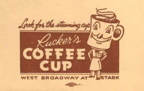 Rucker's Coffee Cup, Portland