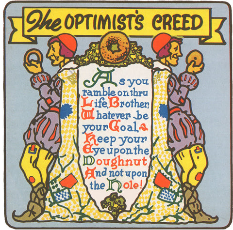 Optimist's Creed Greeting Cards