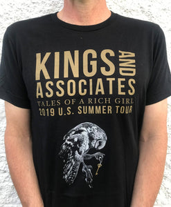 Tales of a Rich Girl USA Summer Tour 2019 T-Shirt