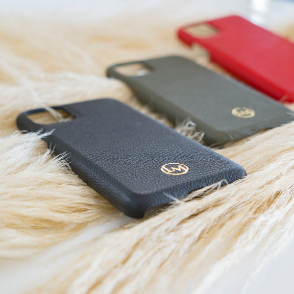 Snap-on Custom Leather Cases by Le Marche
