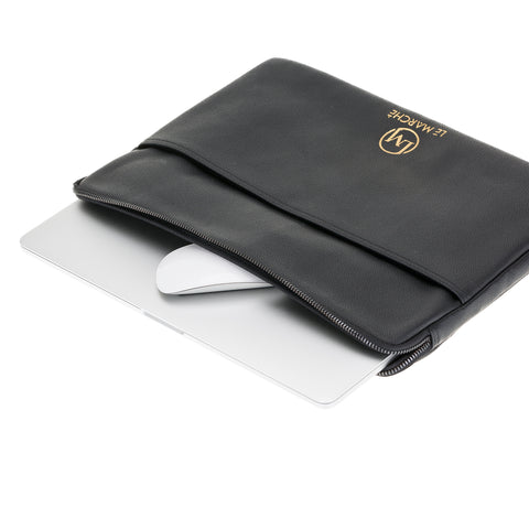 Funda de cuero para portátil para MacBook Air