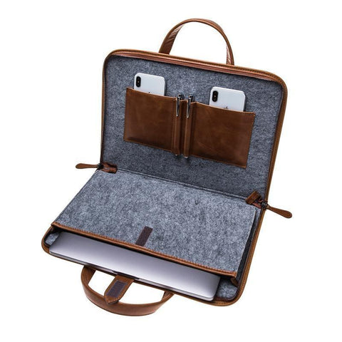 Why Choose a MacBook Leather Case with Zipper2?