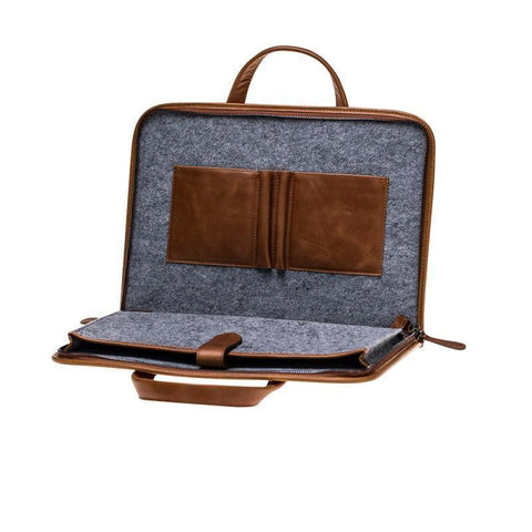Why Choose a MacBook Leather Case with Zipper?