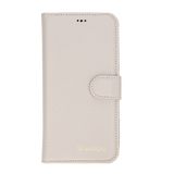"İPhone 12 Pro Max (6.7"") magnetic Detachable Wallet Case - Beige"