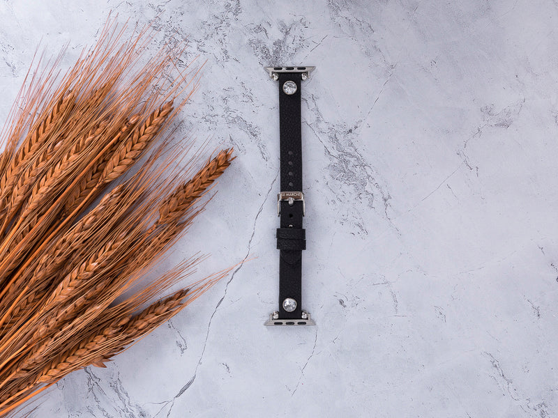 le_marche_black_leather_apple_watch_band