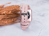 Schlankes Apple Watch Band für iWatch 1 2 3 4 5 6 SE - Nude