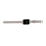 Thin Apple Watch Band for iWatch 1 2 3 4 5 6 SE - Silver Beige