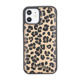 "iPhone 12 Pro Max (6.7"") Leather Snap On Case -Leopard"