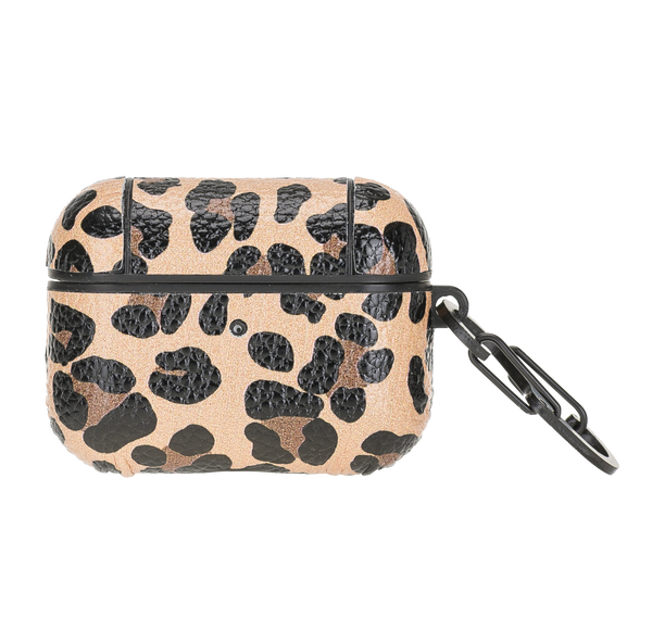 Leopard Leather Airpods Pro Case