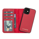 "Funda Magnética Desmontable para iPhone 12 Mini (5.4 "") - Rojo"