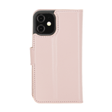 "iPhone 12 Mini (5.4"") Magnetic Detachable Wallet Case - Nude Pink"