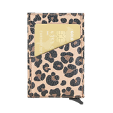 Cartera desplegable mecánica - Leopardo