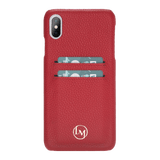 le_marche_leather_iPhone_XS_MAX_Handmade_Leather_Snap_On_Cardholder_Cover_Case