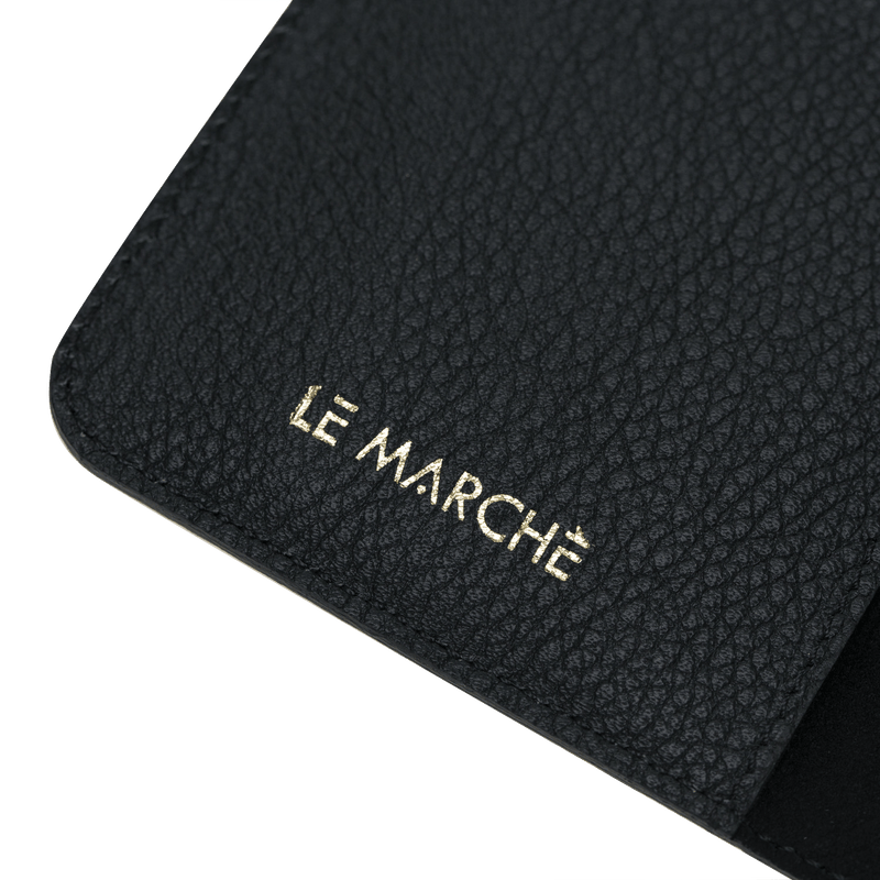 le-marche-leather | iPhone 7/8 Handmade Leather Magnetic Detachable Wallet Case