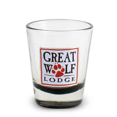 Brass Paw Shot Glass