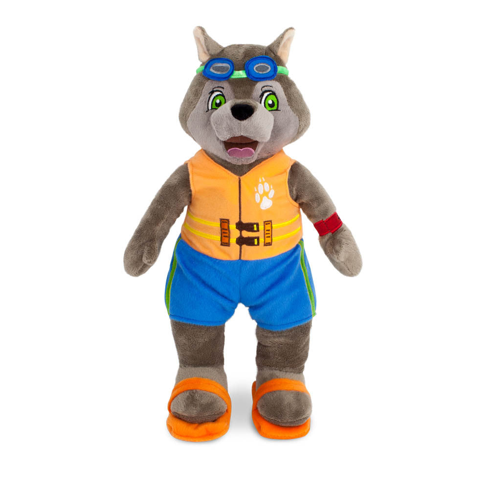 Smile-Sized Wiley Plush