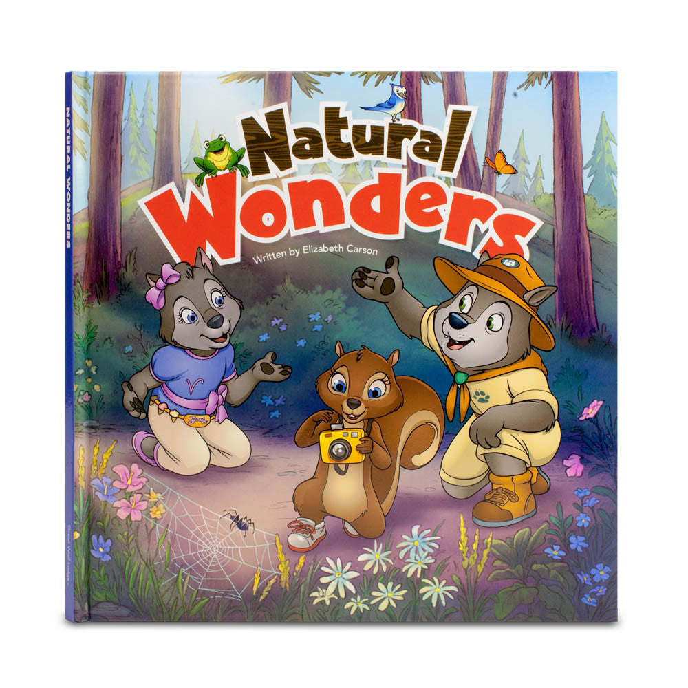 Natural Wonders Story Book