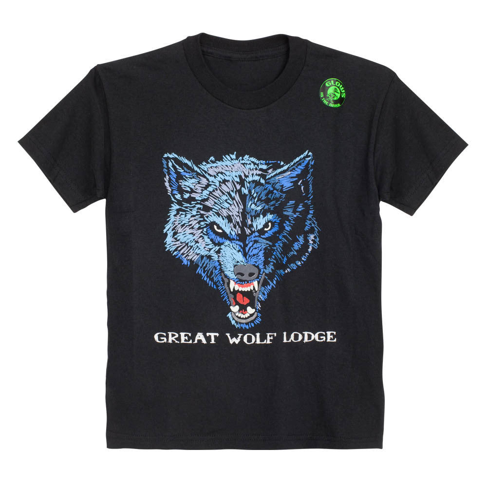Glow in the Dark Wolf Tee