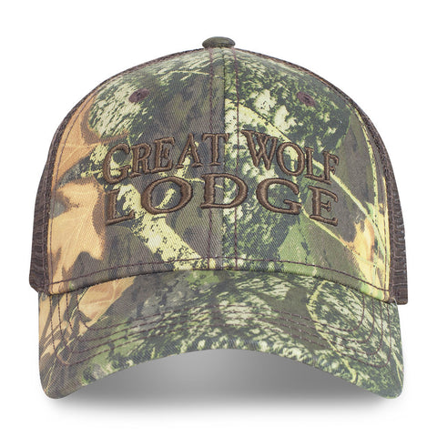Neck-of-the-Woods Camo Hat