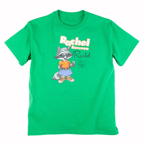 SALE Rachel Raccoon Youth Tee