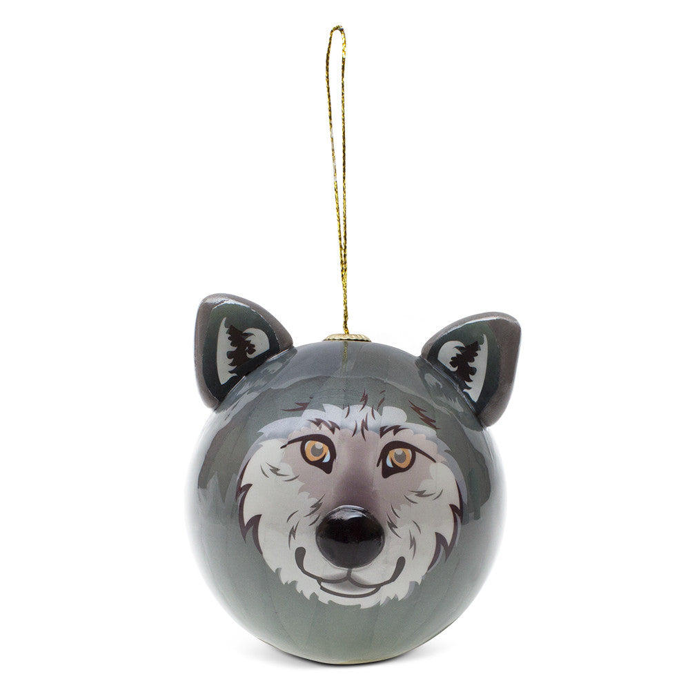 Guardian Wolf Ornament