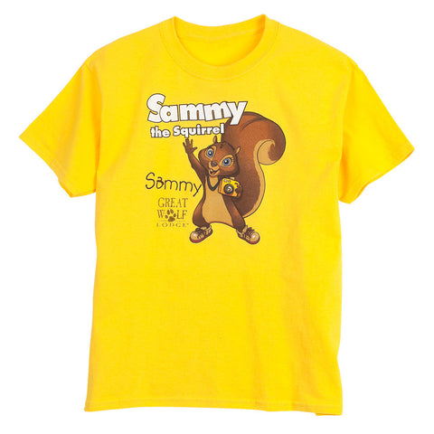 SALE Sammy The Squirrel Youth Tee