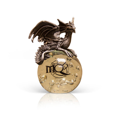 Crystal Ball with Dragon Figurine